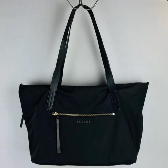 04fe7c855f Cole Haan Handbags - Cole Haan Parker nylon leather tote bag handbag